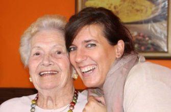 Пенсионерка с дочкой